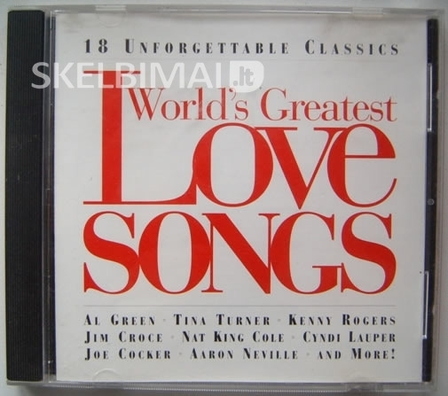 World's Greatest Love Songs - 18 Unforgettable Classics