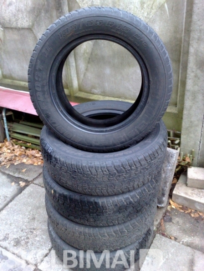 ziemines gislaved 195/65 r15, m+s , 6vnt., mishelin 185/70 r13 ,4 vnt. geros,