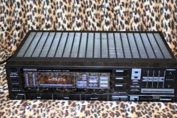 Stereo Resiveris Kenwood KR-A50,Made In Japan