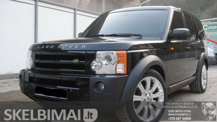 ardomas dalimis Land Rover Discovery, 2008 2.7 TD 140kW  Dyzelis