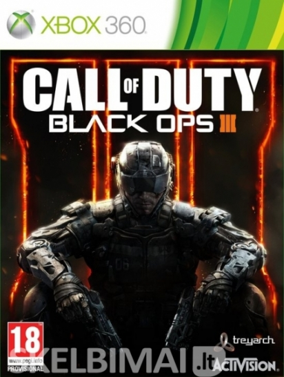 Call of Duty: Black Ops III Xbox360 One ir PS3 Ps4