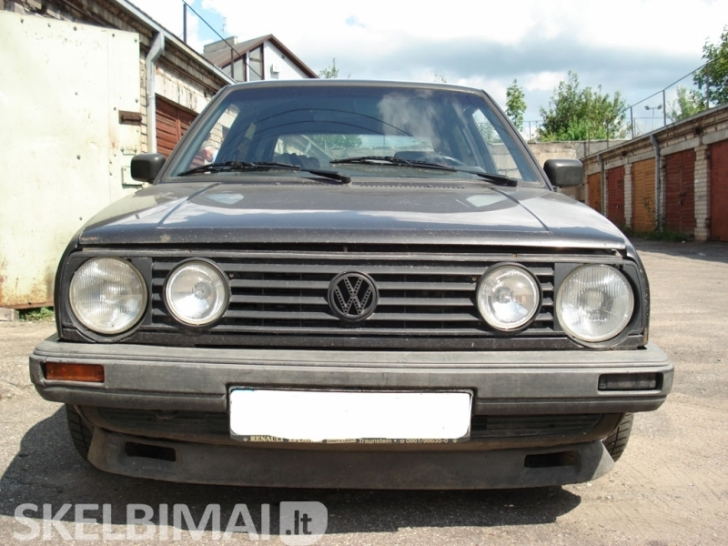 VW GOLF II dalimis