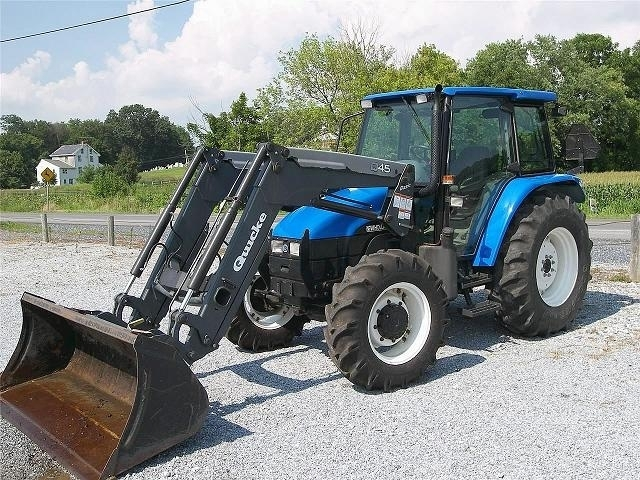 NEW HOLLAND TL80  -  2002