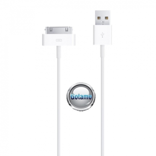 Originalus USB kabelis Apple iPhone 3G 3GS 4 4s telefonams iPad planšetėms