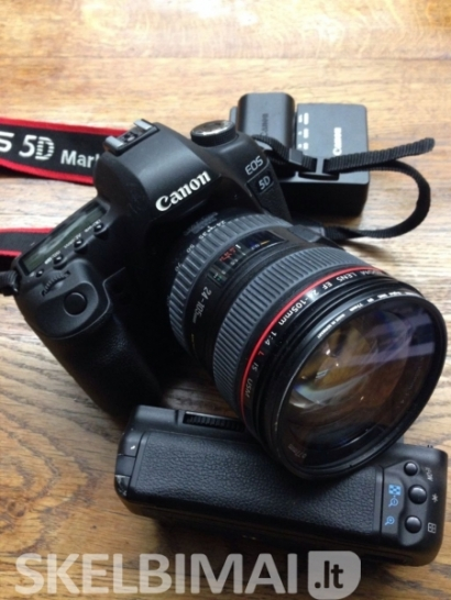 Canon EOS 5D Mark III   - EF 24-70mm F/4 L IS USM Lens