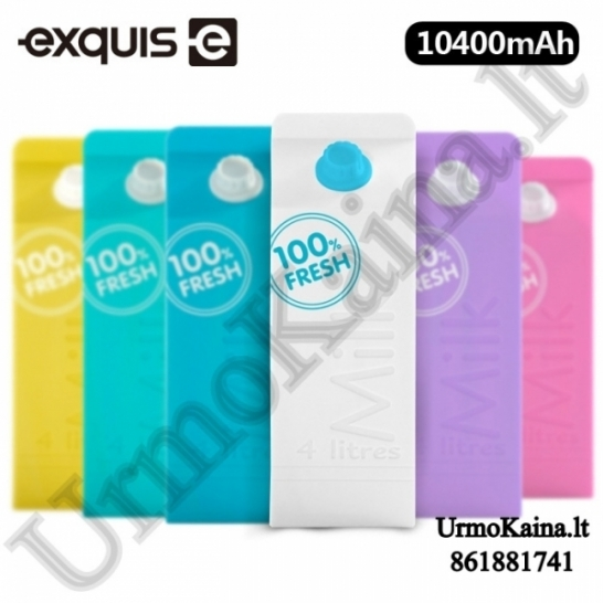 Powerbank 10400 mah Milk