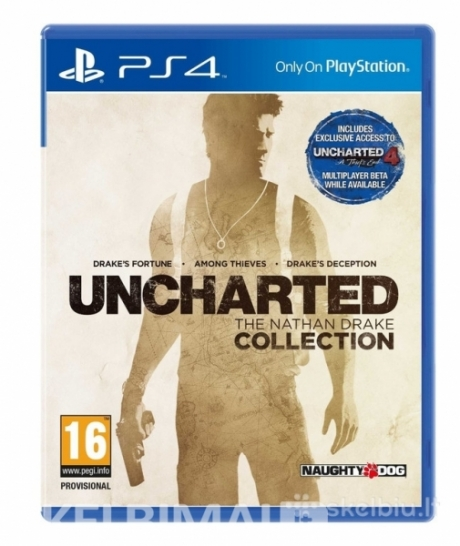 Uncharted: The Nathan Drake Collection Ps4 sony
