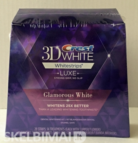 Crest 3D LUXE Glamorous White