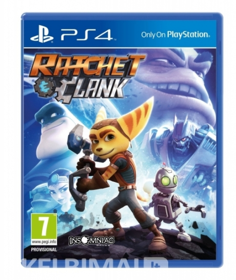 Parduodu Ratchet and Clank Ps4