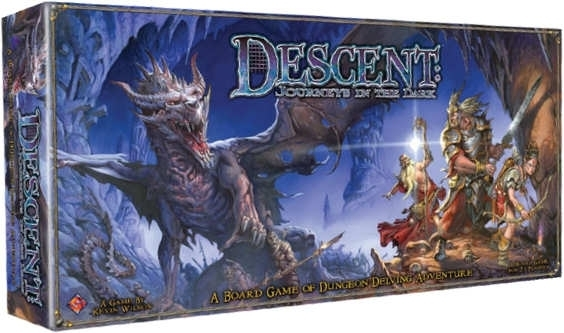 Descent: Journeys in the dark - tai Dungeons&Dragons tipo stalo žaidimas