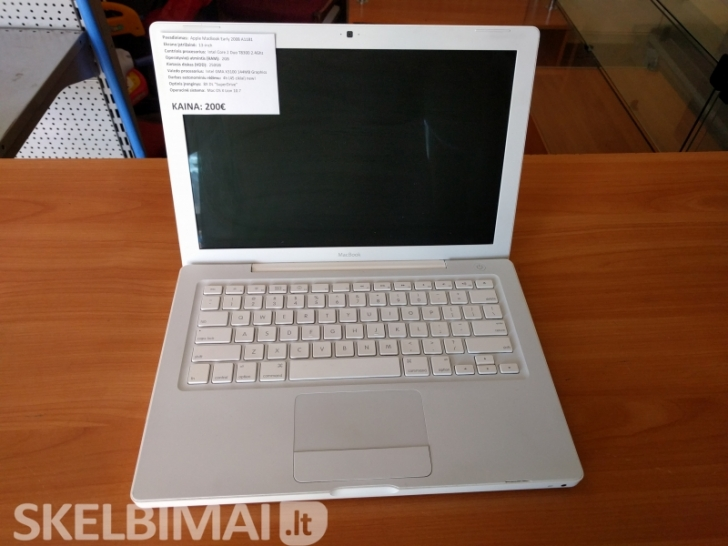 Apple MacBook Early 2008 A1181