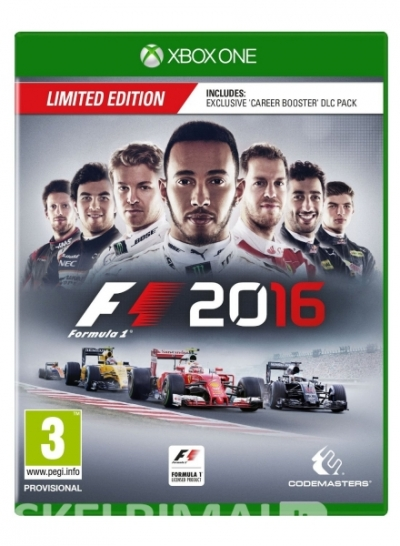 F1 2016 Limited Edition ps4 ir xbox one konsolems