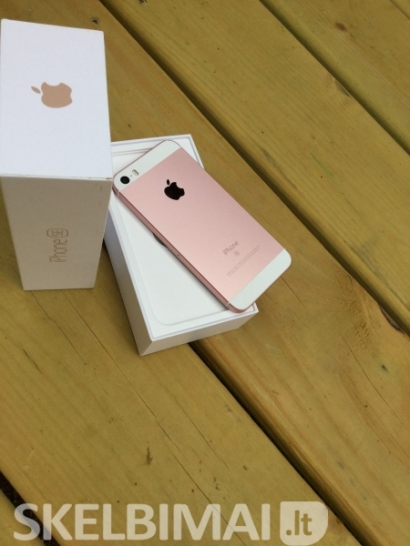 Apple IPhone SE pakilo 16Gb aukso