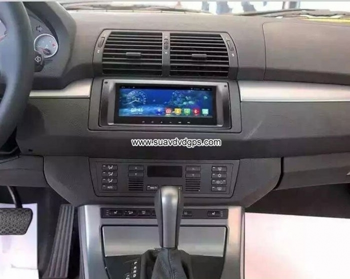 BMW X5 E39 E53 M5 multimedia car GPS radio android wifi 3G DAB+ APP
