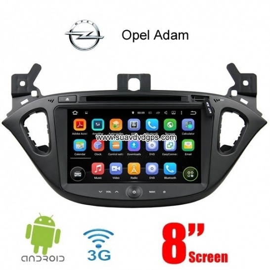 Opel Adam Android Car Radio stereo DVD GPS WIFI 3G multimedia APP