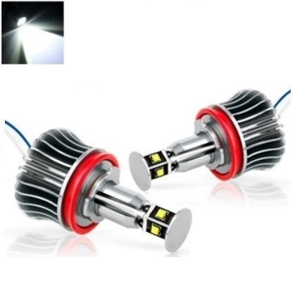 BMW Angel Eyes H8 40W CREE LED markeriai CAN BUS