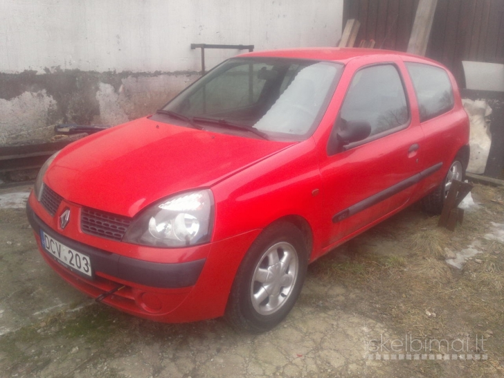 Renault Clio 2003m. 1,4 dyzel