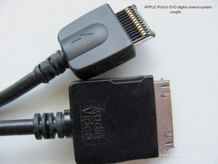 Apple video  to cable DVD Digital Cinema System