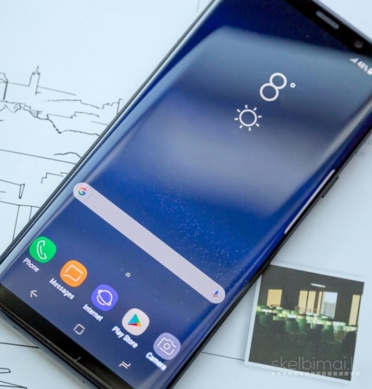 GALAXY S9+ PLUS-HD AMOLED-GORILLA GLASS-512GB-4G-LT KALBA+DEKLAS DOVANU....